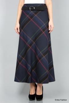 Длинная юбка Emka Fashion 314-kamelia