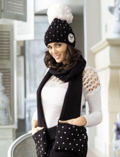 Комплект шапка и шарф Kamea Krappa
