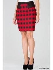 Красная юбка Emka Fashion 401-eva