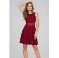 Лёгкое платье с кружевным поясом Donna Saggia DSP-274-67