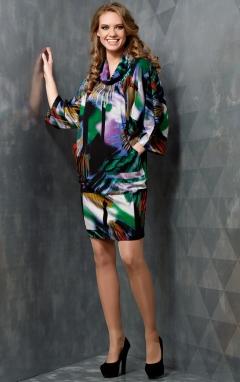 Платье из трикотажа TopDesign B3 091