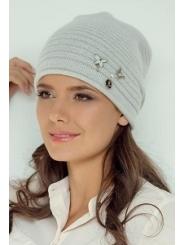 Белая женская шапка Landre Регина