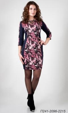 Платье из трикотажа Golub П241-2096-2215