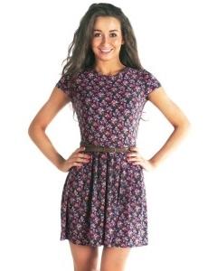 Трикотажное платье 2012