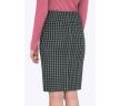 Шерстяная юбка-карандаш на кокетке Emka S202-60/gipsy