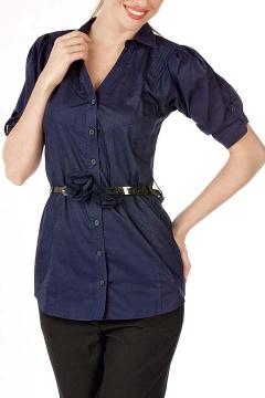 Удлиненная женская рубашка Golub