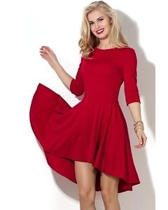 Платье с асимметричным низом Donna Saggia DSP-09-29t