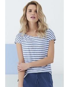 Женская блузка-тельняшка Sunwear Q55-2-53