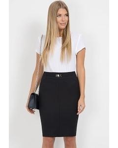 Черная юбка-карандаш Emka Fashion 442-brianna