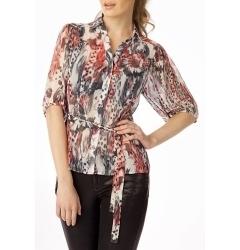 Стильная блузка из шифона Golub