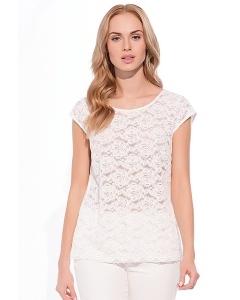 Белая блузка Sunwear W65