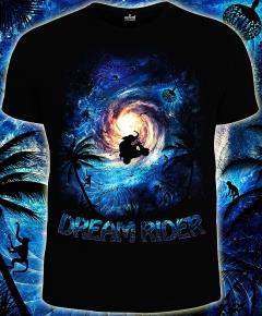 Мужская футболка Dream Rider (Светится в темноте и ультрафиолете)