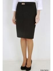 Черная юбка-карандаш Emka Fashion 442-rumina