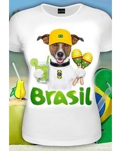 Женская футболка к чемпионату мира по футболу