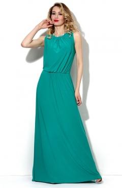 Платье нефритового цвета Donna Saggia DSP-34-50t