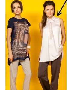 Удлиненная блузка TopDesign Premium PA5 28