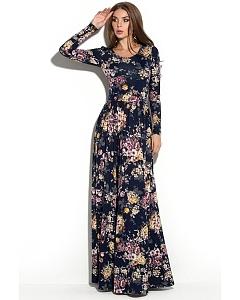 Длинное платье в пол Donna Saggia DSP-69-93t