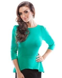 Асимметричная блузка Enny 18023