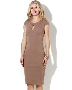 Платье с вырезом капелька Donna Saggia DSP-25-26t