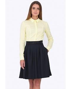 Чёрная юбка-колокол Emka Fashion 322-almaza
