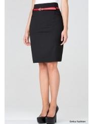 Черная юбка Emka Fashion 438-rumina