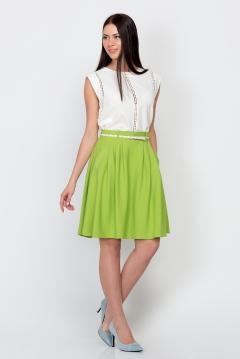 Салатовая юбка Emka Fashion 322-odet