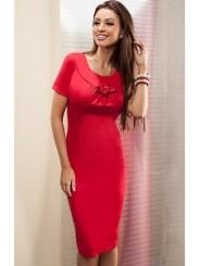 Красное платье Enny | 15029