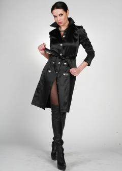 Ультрамодное черное платье