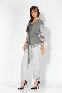 Светло-серый женский жакет | 4656