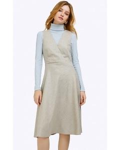 Платье-сарафан светло-серого цвета Emka PL838/javin