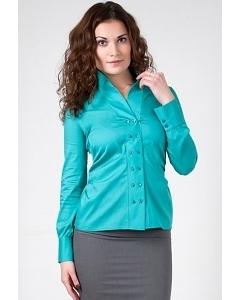 Бирюзовая блузка Golub Б583-2188