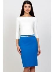 Синяя юбка Emka Fashion 556-penelopa