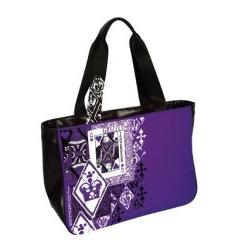 Фиолетовая женская сумка Grizzly | БК-108