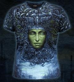 Клубная мужская футболка Cosmogony CyberGorgon