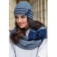 Комплект шапка и шарф Kamea Felicia