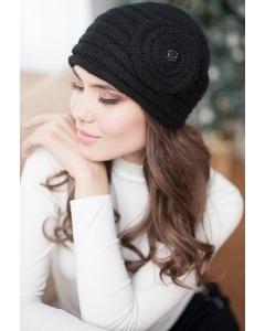 Женская шапочка Landre Франческа черного цвета