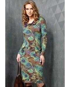 Платье из трикотажа TopDesign B3 062