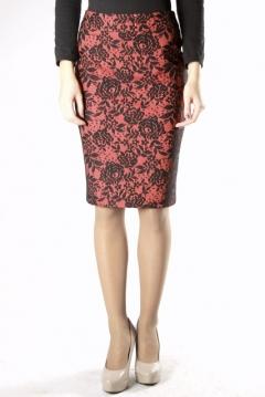 Красно-черная юбка   264-balley
