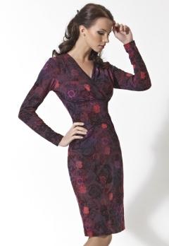Трикотажное платье TopDesign | B2 001