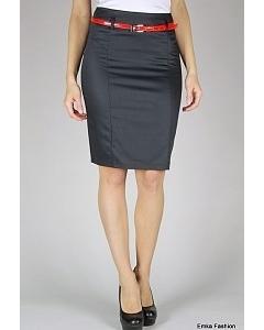Черная юбка-карандаш Emka Fashion | 354-lucia