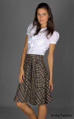 Расклешенная юбка Emka Fashion