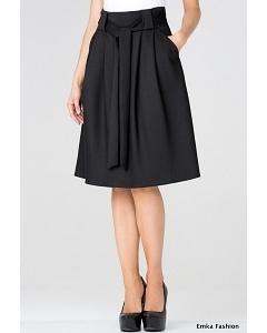 Черная юбка Emka Fashion 247-rumina