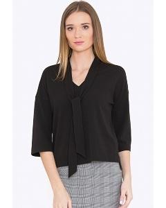 Женская блузка с галстуком Emka B2272/saniya