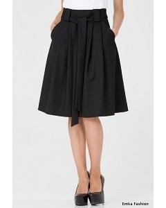 Шикарная юбка черного цвета