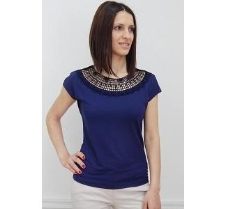 Блузка синего цвета Sunwear N49-2