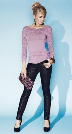 Розовая блузка Zaps Indira