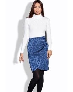Синяя юбка Remix
