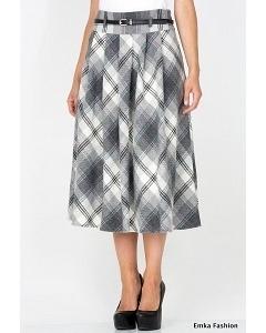 Шерстяная юбка Emka Fashion 306-genrietta
