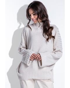 Женский свитер oversize Fobya F423