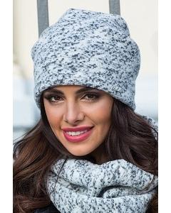 Женская меланжевая шапка Kamea Monika